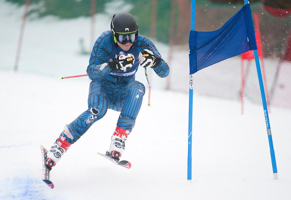Mac Cup giant slalom at Wildcat 2nd run Pinkham Notch, NH