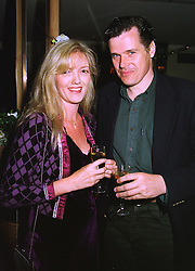 MISS ANNABEL HESELTINE daughter of the former Conservative Deputy Prime Minister and her fiancee MR PETER BUTLER, at a dinner in London on 30th September 1998.MKK 59