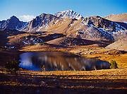 Hilgard Basin and Echo Peak, Madison Range, Lee Metcalf Wilderness, Montana.
