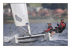 Largs Regatta Week - August 2012.Round the Island Race.HURRICANE 5.9, 154,  Dylan Brown,  Brian Young .