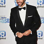 Marvin Humes arrivers at the Global's Make Some Noise Night at Finsbury Square Marquee on 20 November 2018, London, UK.