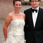 NLD/Apeldoorn/20070901 - Viering 40ste verjaardag Prins Willem Alexander, aankomst Annette en Bernhard