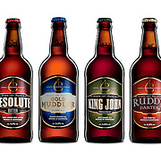 Andwell beer product range photographed at Hype Photography by advertising photographer Stuart Freeman.