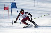 Gunstock Ski Club's Tecnica Cup alpine ski race January 26, 2013.    Karen Bobotas Photographer