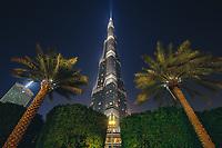 Night Burj Khalifa
