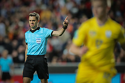 March 22, 2019 - Na - Lisbon, 03/22/2019 - The Portuguese Football Team received their Ukrainian counterpart this afternoon at the Estádio da Luz in Lisbon, in the Group B game, in the qualifying round for the European Championship. Referee Clément Turpin  (Credit Image: © Atlantico Press via ZUMA Wire)