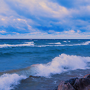 """Morning on the Waves"" <br />