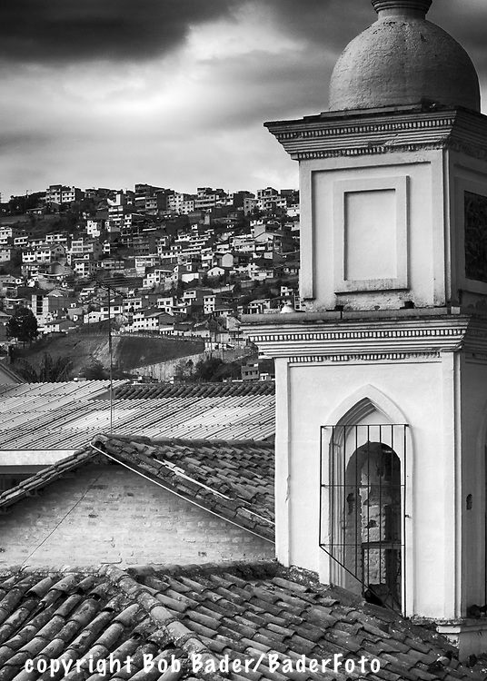 Quito Ecuador Rooftops