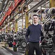 Andy Franklin, Perkins Engines