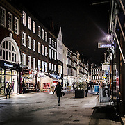 Strada commerciale in Mayfair.<br /> <br /> Commercial street in Mayfair.