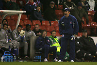 Photo: Paul Thomas.<br /> Stoke City v Millwall. The FA Cup. 05/01/2007.<br /> <br /> Tony Pulis, Stoke manager.