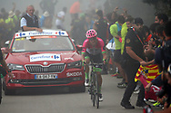 Rigoberto Uran (COL, EF Education First Drapac) during the 73th Edition of the 2018 Tour of Spain, Vuelta Espana 2018, Stage 15 cycling race, 15th stage Ribera de Arriba - Lagos de Covadonga 178,2 km on September 9, 2018 in Spain - Photo Luca Bettini/ BettiniPhoto / ProSportsImages / DPPI