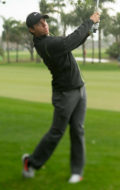 Rory McIlroy of Northern Ireland during the second round of the 2015 Honda Classic at PGA National Resort in Palm Beach Gardens, Florida on February 27, 2015. (Photograph ©2015 Darren Carroll)