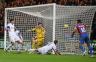 Sunderland's Wes Brown scoring an own goal<br /> <br /> - Barclays Premier League - Crystal Palace vs Sunderland- Selhurst Park - London - England - 3rd November 2014  - Picture David Klein/Sportimage