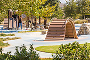 Children's Playground Structure at Sendero Field Park Rancho Mission Viejo