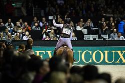 Photographie Eric KNOLL. Bordeaux 2018. Cross Indoor.<br /> Michael JUNG (GER). CORAZONJung Michael, GER, Corazon<br /> Jumping de Bordeaux 2018<br /> © Hippo Foto - Eric Knoll<br /> 02/02/2018