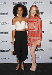 Kelly McCreary, Sarah Drew bei der 2016 Entertainment Weekly Pre Emmy Party in Los Angeles / 160916<br /> <br /> ***2016 Entertainment Weekly Pre-Emmy Party in Los Angeles, California on September 16, 2016***