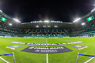 General View of Celtic Park ahead of their Europa League match between Celtic and Rennes at Celtic Park, Glasgow, Scotland on 28 November 2019.
