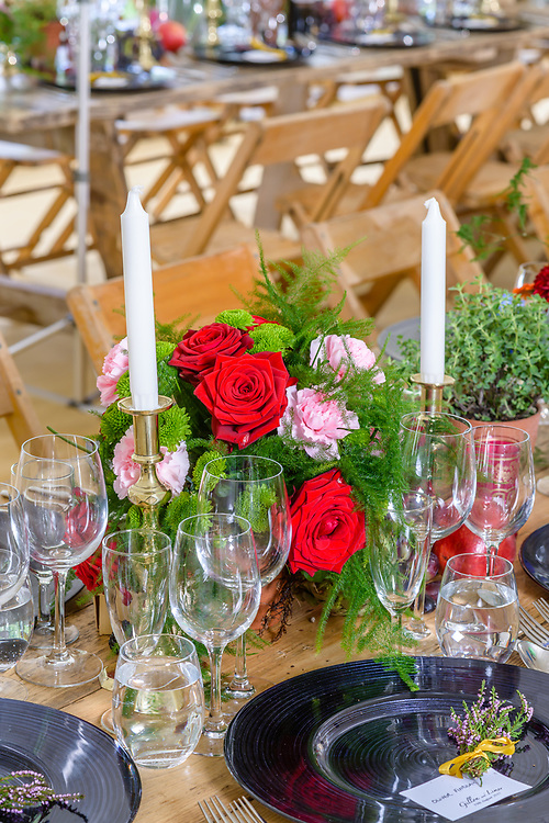 Props & product offered by wedding planning and prop hire company 'Get Knotted'. The company, run by Lindsey Hunter from her base in the Scottish Borders, can design, style organise and provide all the props and items needed for a wedding.
