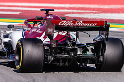 February 26, 2019 - Barcelona, Barcelona, Spain - Alfa Romeo aerodinamic detail of rear difussor during the Formula 1 2019 Pre-Season Tests at Circuit de Barcelona - Catalunya in Montmelo, Spain on February 26. (Credit Image: © AFP7 via ZUMA Wire)