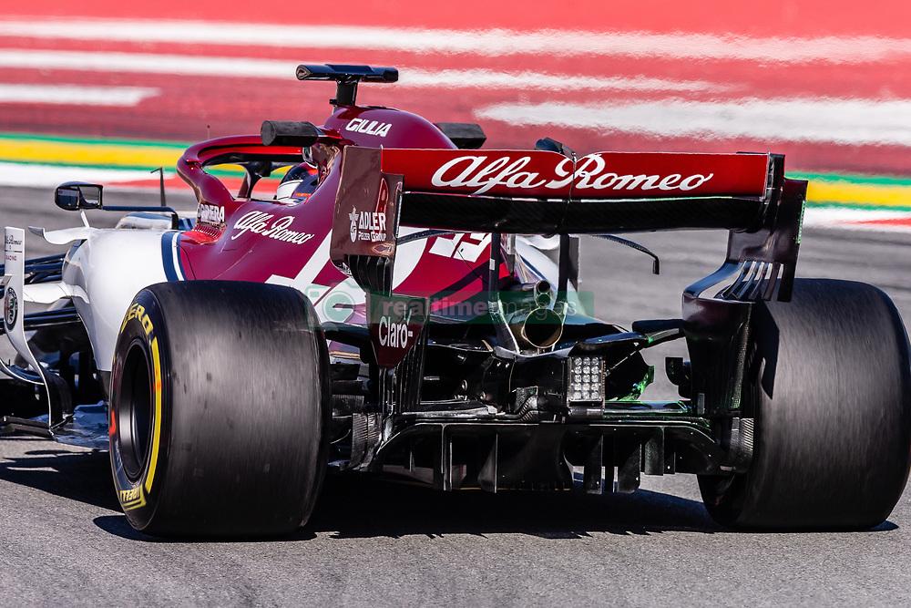 February 26, 2019 - Barcelona, Barcelona, Spain - Alfa Romeo aerodinamic detail of rear difussor during the Formula 1 2019 Pre-Season Tests at Circuit de Barcelona - Catalunya in Montmelo, Spain on February 26. (Credit Image: © AFP7 via ZUMA Wire)