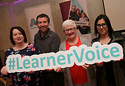 Attending The National FET Learner Forum Regional Meeting in the Abbey Hotel, Roscommon on Wednesday were Tracey Ownes, Dermot Brennan, Catherine Foster and Linda Kasperane. Photo:- XPOSURE.IE