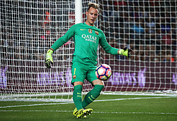 August 10, 2016 - Barcelona, Catalonia, Spain - Andre Ter Stegen during the match corresponding to the Joan Gamper Trophy, played at the Camp Nou stadiium, on august 10, 2016. (Credit Image: © Joan Valls/NurPhoto via ZUMA Press)