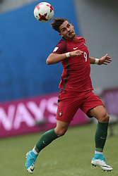 June 24, 2017 - Saint Petersburg, Russia - André Silva of the Portugal national football team vie for the ball during the 2017 FIFA Confederations Cup match, first stage - Group A between New Zealand and Portugal at Saint Petersburg Stadium on June 24, 2017 in St. Petersburg, Russia. (Credit Image: © Igor Russak/NurPhoto via ZUMA Press)