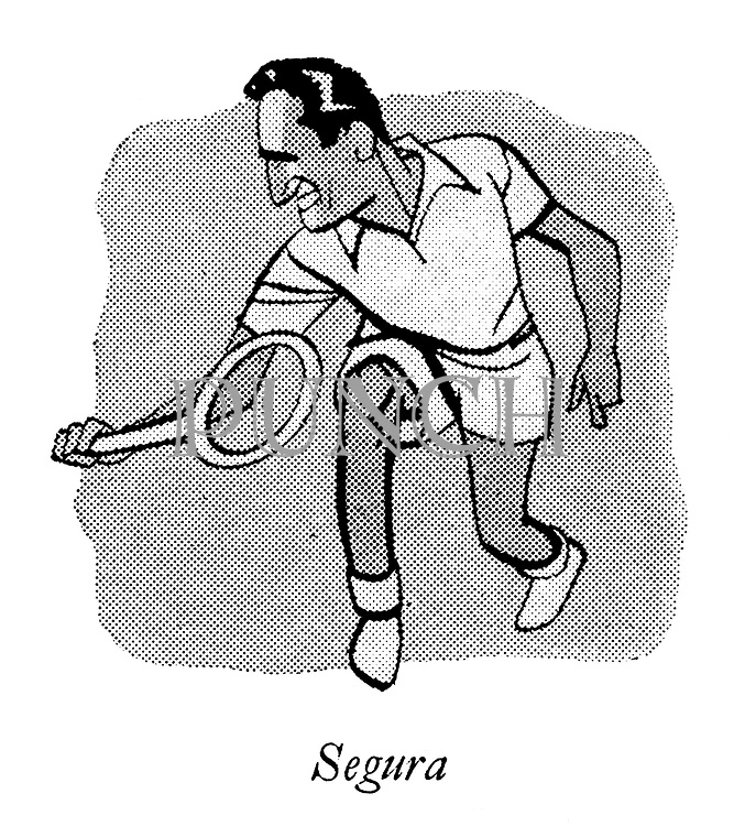 Courts of the Evening ; Professional Tennis at Wembley<br />  ; Francisco Segura