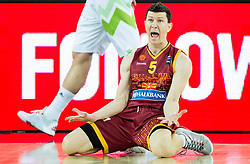 Vlado Ilievski of Macedonia reacts during basketball match between Slovenia and Macedonia at Day 6 in Group C of FIBA Europe Eurobasket 2015, on September 10, 2015, in Arena Zagreb, Croatia. Photo by Vid Ponikvar / Sportida