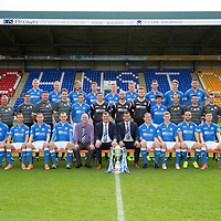 St Johnstone FC Photocall 2014-15