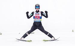 28.02.2019, Seefeld, AUT, FIS Weltmeisterschaften Ski Nordisch, Seefeld 2019, Nordische Kombination, Team Sprung, im Bild Espen Bjoernstad (NOR) // Espen Bjoernstad of Norway during the Team Jumping competition for Nordic Combined of FIS Nordic Ski World Championships 2019. Seefeld, Austria on 2019/02/28. EXPA Pictures © 2019, PhotoCredit: EXPA/ JFK
