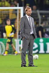 13.09.2011, Signal Iduna Park, Dortmund, GER, UEFA CL, Gruppe F, Borussia Dortmund (GER) vs Arsenal London (ENG), im Bild.Jürgen Klopp (Trainer Dortmund)..// during the UEFA CL, group F, Borussia Dortmund (GER) vs Arsenal London on 2011/09/13, at Signal Iduna Park, Dortmund, Germany. EXPA Pictures © 2011, PhotoCredit: EXPA/ nph/  Mueller       ****** out of GER / CRO  / BEL ******