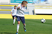 Fotball<br /> 20.10.2011<br /> Landskamp G15<br /> Portugal v Norge<br /> Foto: Cityfiles/Digitalsport<br /> NORWAY ONLY<br /> <br /> Portugal vs Norway  under 16 International Friendly Football Match. In picture: Morten Ågnes Konradsen