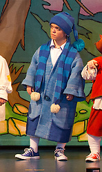 © London News Pictures. Fie pic dated 06/12/2013.  Darius Ashard playing the role of Snoozy the dwarf in Snow white at the New Wimbledon Theatre in which Priscilla Presley made her panto debut. Darius Ashard has today (10/09/2013) been fined for  hurling abuse at police after he was thrown out of a nightclub for taking drugs, a court heard.Photo credit: Bettina Strenske/LNP