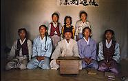 KR405 Chon Hak dong village of Ermits South Korea, Village hermite, Coree du Sud