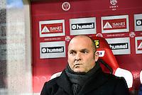 Pascal DUPRAZ  - 13.12.2014 - Reims / Evian Thonon  - 18eme journee de Ligue1<br />Photo : Fred Porcu / Icon Sport
