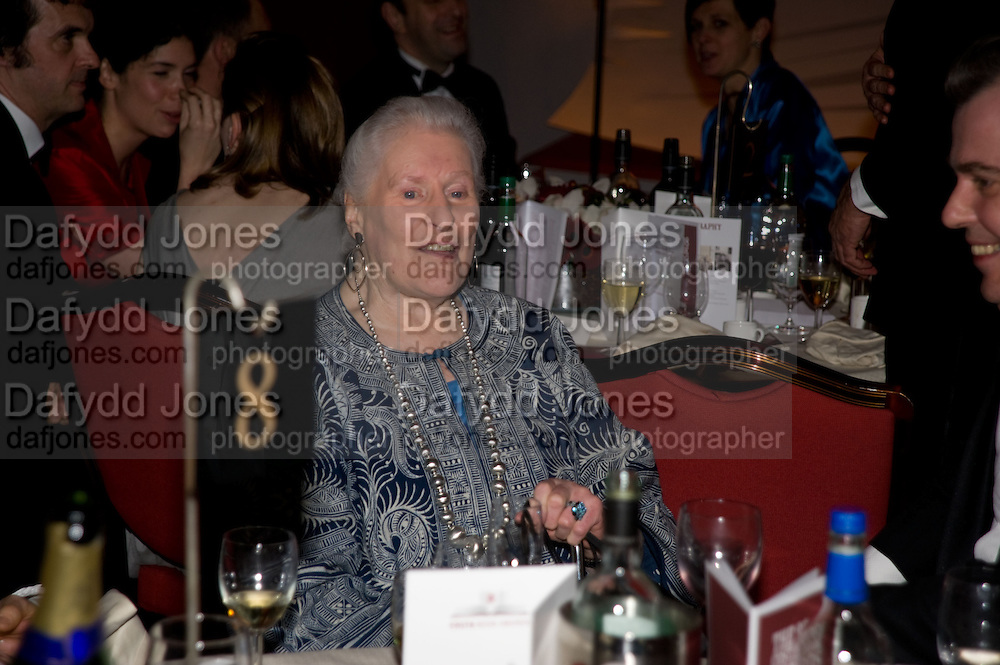 Diana Athill, The Costa Book of the Year Award at the Costa Book Awards. The Intercontinental Hotel, Hamilton Place. London. 27 January 2009 *** Local Caption *** -DO NOT ARCHIVE -Copyright Photograph by Dafydd Jones. 248 Clapham Rd. London SW9 0PZ. Tel 0207 820 0771. www.dafjones.com<br /> Diana Athill, The Costa Book of the Year Award at the Costa Book Awards. The Intercontinental Hotel, Hamilton Place. London. 27 January 2009