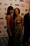Irena Shields (pink) and Sofia Hayat. The Asian Business Awards 2005. Hilton. London. 7 April 2005. ONE TIME USE ONLY - DO NOT ARCHIVE  © Copyright Photograph by Dafydd Jones 66 Stockwell Park Rd. London SW9 0DA Tel 020 7733 0108 www.dafjones.com