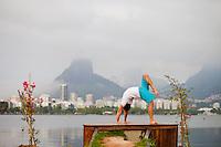 Louis Gabriel at Lagoa, Rio do Janeiro