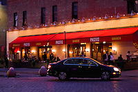 Pastis restaurant in the Meatpacking District, Manhattan  New York October 2008