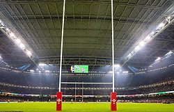 A general view of Principality stadium, home of Wales<br /> <br /> Photographer Simon King/Replay Images<br /> <br /> Friendly - Wales v Barbarians - Saturday 30th November 2019 - Principality Stadium - Cardiff<br /> <br /> World Copyright © Replay Images . All rights reserved. info@replayimages.co.uk - http://replayimages.co.uk