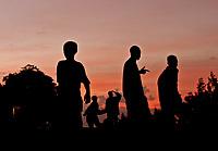 Ethiopean Silhouettes - Footballers