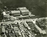 1920 Aerial of Hollywood Studios on Santa Monica Blvd.