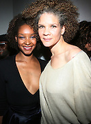 l to r: Janine Green-Doh and Michaela Angela Davis at The 3rd Annual Black Girls Rock Awards held at the Rose Building at Lincoln Center in New York City on November 2, 2008..BLACK GIRLS ROCK! Inc. is a 501 (c)(3) nonprofit, youth empowerment mentoring organization established for young women of color.  Proceeds from ticket sales will benefit BLACK GIRLS ROCK! Inc.?s mission to empower young women of color via the arts.  All contributions are tax deductible to the extent allowed by