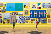 Works including Double Take by Sir Michael Craig-Matin, £198,000, and Infinty by Olga Lomaka, £58,500 - Royal Academy celebrates its 250th Summer Exhibition, and to mark this momentous occasion, the exhibition is co-ordinated by Grayson Perry RA.