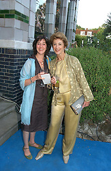 Left to right, AMY ROSENTHAL and her mother actress MAUREEN LIPMAN at a party to celebrate FilmFour becoming the UK's first major free film channel held at Debenham House, Addison Road, London on 20th July 2006.<br /><br />NON EXCLUSIVE - WORLD RIGHTS