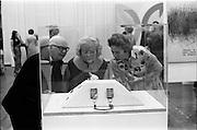 24/10/1971<br /> 10/24/1971<br /> 24 October 1971<br /> Opening of ROSC 1971 art exhibition at the RDS, Ballsbridge, Dublin.