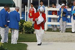 Jury<br /> Olympic Games Hong Kong 2008<br /> Photo © Dirk Caremans - Hippo Foto`
