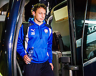 Kristian Dennis of Chesterfield during the Sky Bet League 1 match at The Den, London<br /> Picture by Richard Brooks/Focus Images Ltd 07947656233<br /> 21/02/2017